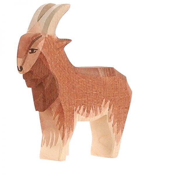 Figura legno Caprone marrone - Ostheimer