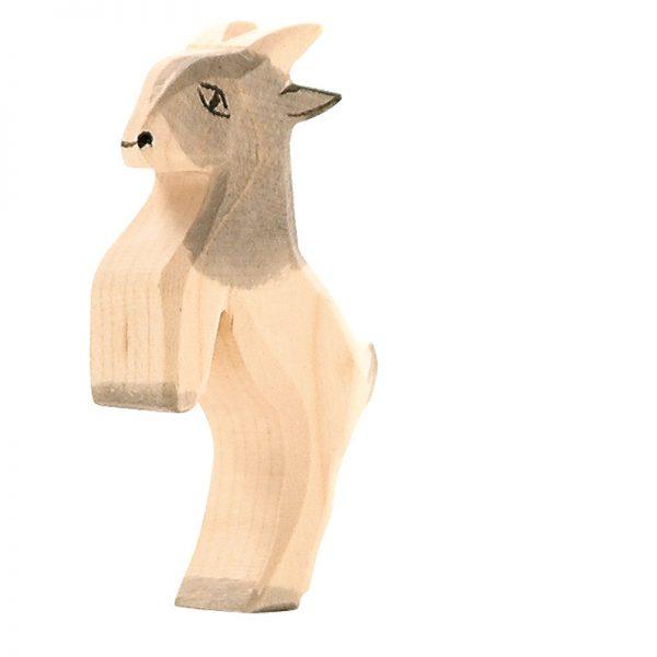 Figura legno capretta che salta - Ostheimer