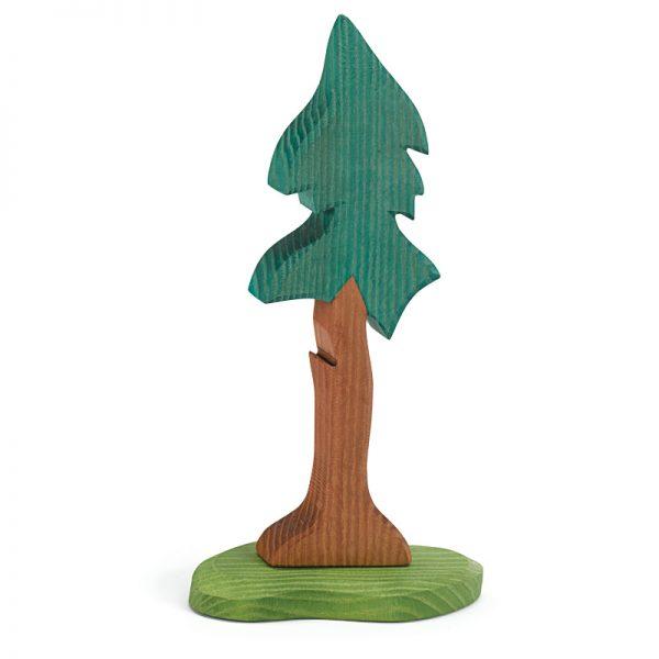 Figura albero abete alto con base - Ostheimer