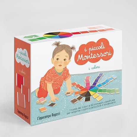 I piccoli Montessori - I colori Ippocampo Edizioni