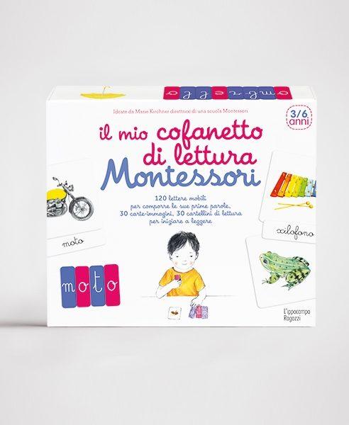 Il mio cofanetto di lettura Montessori Ippocampo Edizioni