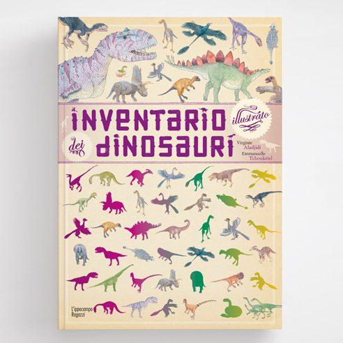 Inventario illustrato dei dinosauri Ippocampo Edizioni