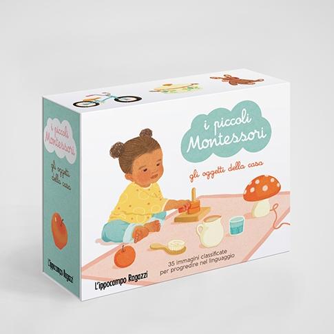 I piccoli Montessori - Gli oggetti della casa Ippocampo Edizioni