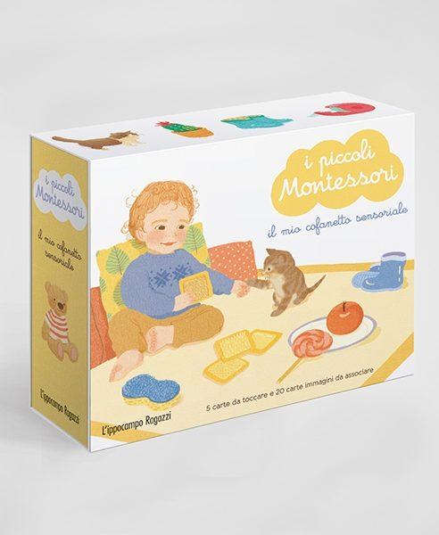I piccoli Montessori - Il mio cofanetto sensoriale Ippocampo Edizioni