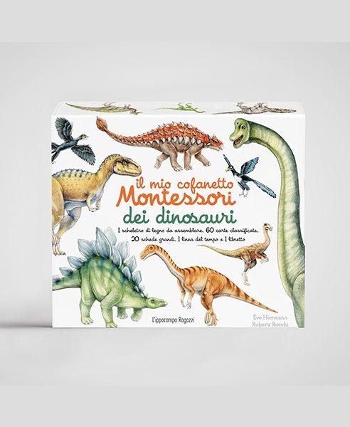 Il mio cofanetto Montessori dei dinosauri Ippocampo Edizioni