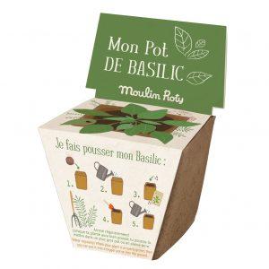 Kit vaso semi basilico Le Jardin Moulin Roty