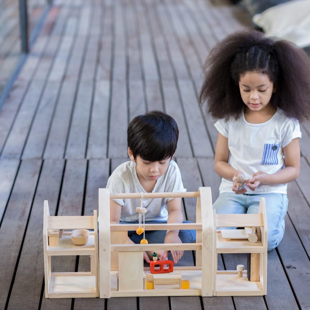 Casa delle bambole Slide n Go Plan Toys