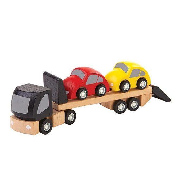Gioco Camion trasporto macchine Plan Toys