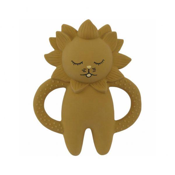 Mini Leone da dentizione gomma naturale Konges sløjd