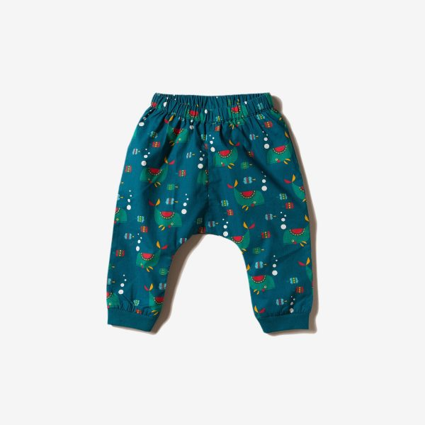 Pantaloni turchi Whale Little green Radicals