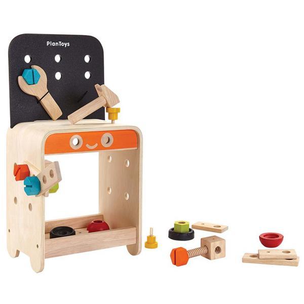 Set attrezzi e banco di lavoro Plan Toys