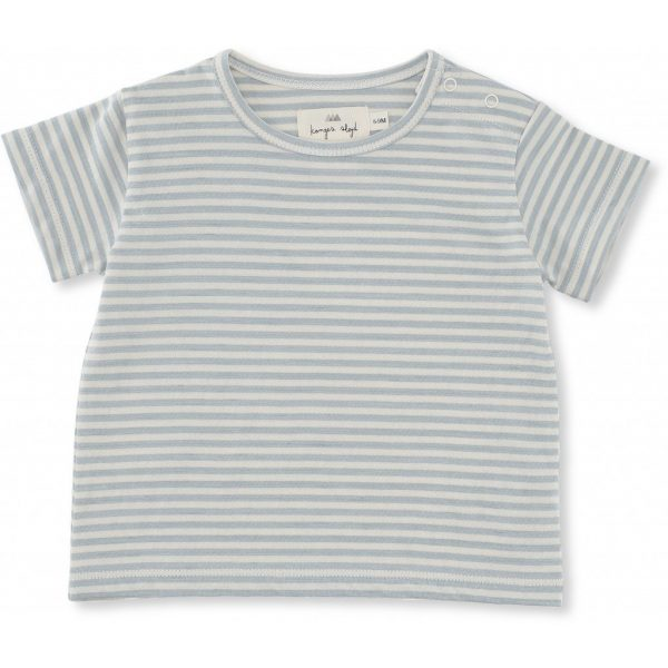 T-shirt Reya righe azzurre Konges sløjd