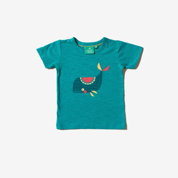 T-shirt Whale of time Little green Radicals