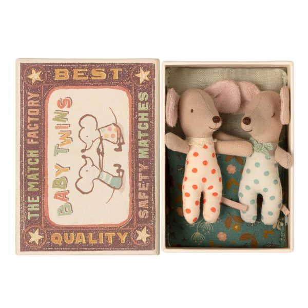 Topini baby Twins in box Maileg
