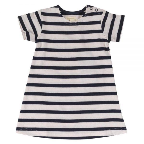 Vestito Breton dress navy Pigeon organic