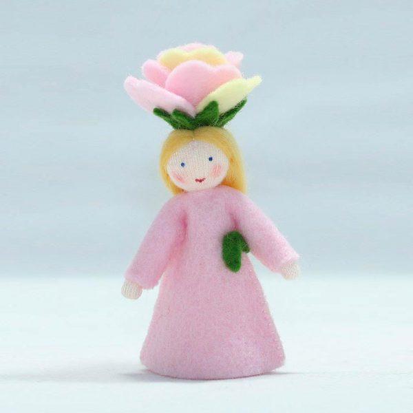 Figura Waldorf Fata Rose Ambro-dolls