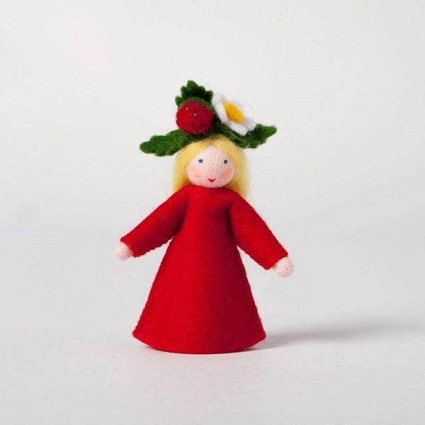 Figura Waldorf Fata Strawberry Ambro-dolls