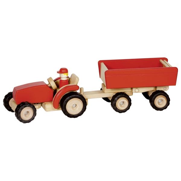 Automezzo trattore con rimorchio Goki