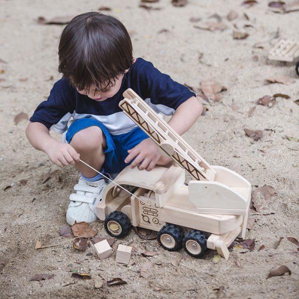 Camion dei pompieri edizione speciale Plan Toys