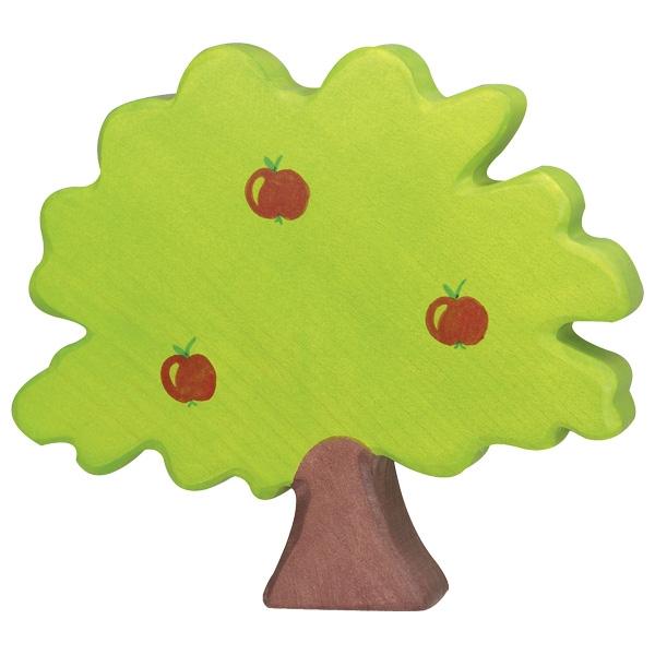 Figura legno Melo grande - Holztiger