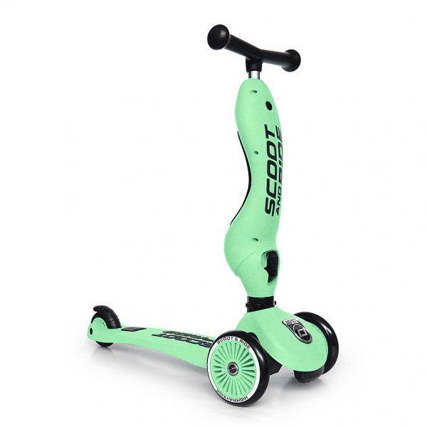 Monopattino e cavalcabile 2in1 Kiwi Scoot and Ride