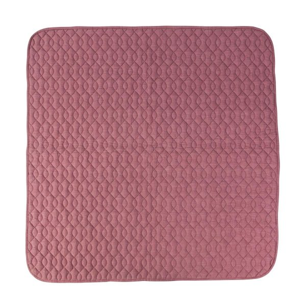 Trapunta culla tappeto attività rose Sebra
