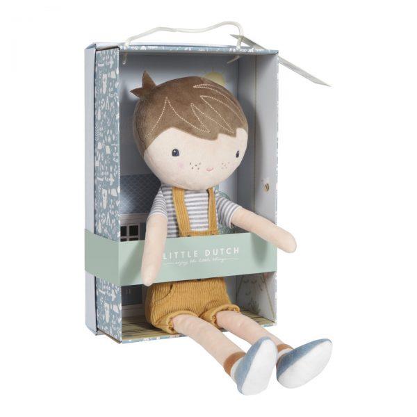 Bambola di stoffa Jim 35 cm Little Dutch