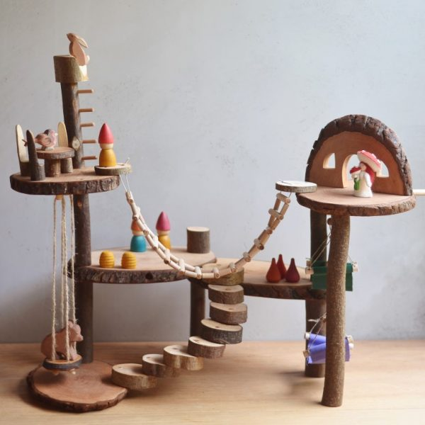Casa sull'albero Playground Magic Wood