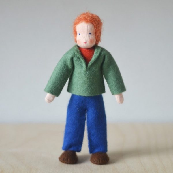 Dollhouse Family Papà giacca verde Ambro-dolls