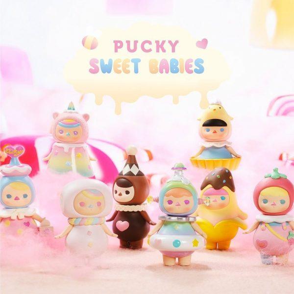 Figura in vinile Pucky Sweet Babies - blind box Pop Mart