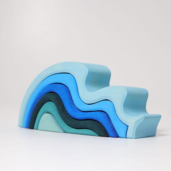 Impilabile legno onde Grimm's - 6 pezzi