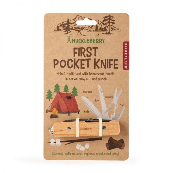 Huckleberry Primo coltellino multifunzione tascabile