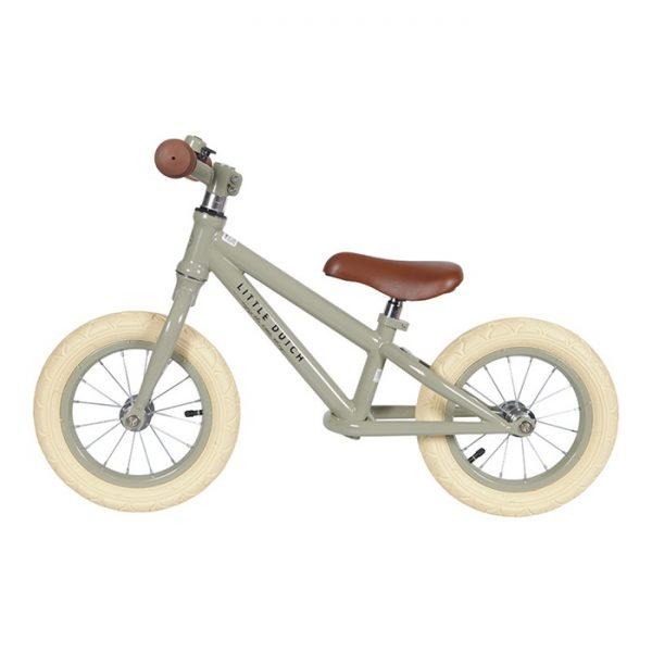 Balance bike olive Little Dutch