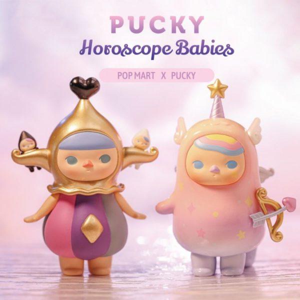 Figura in vinile Pucky Horoscope Babies Pop Mart