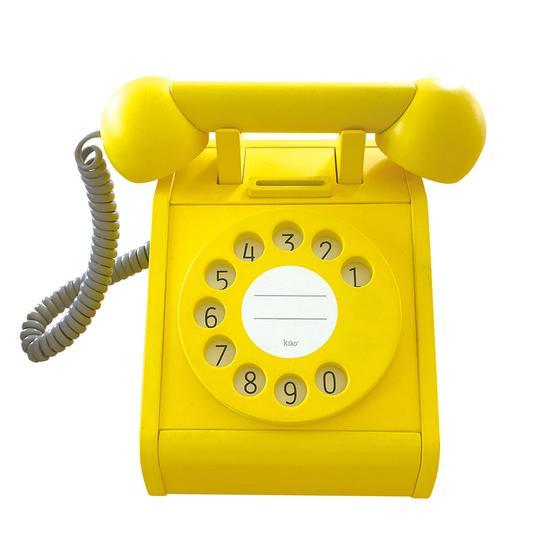 Gioco Telephone giallo Kukkia gg