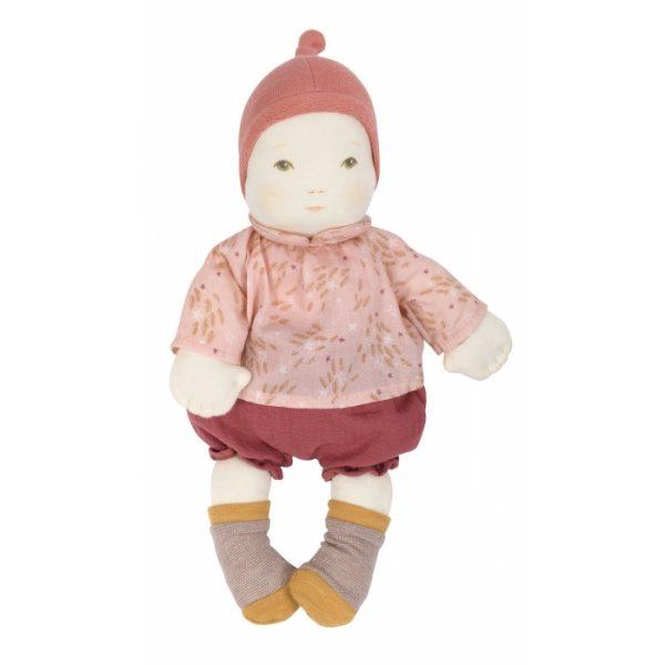 Prima bambola bebè fille Moulin Roty