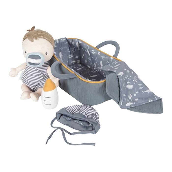 Set Bambola di stoffa baby doll Jim Little Dutch