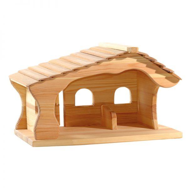 Stalla in legno massello grande Ostheimer