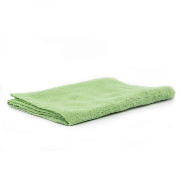 Telo gioco garza di cotone 90 x 90 cm verde - Ostheimer