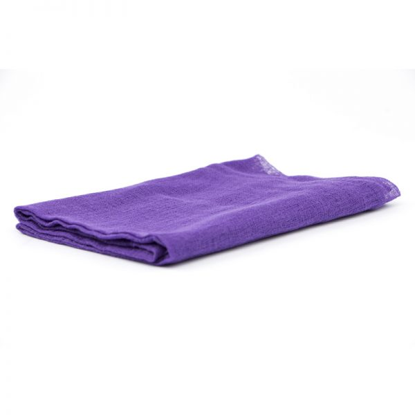 Telo gioco garza di cotone 90 x 90 cm viola - Ostheimer