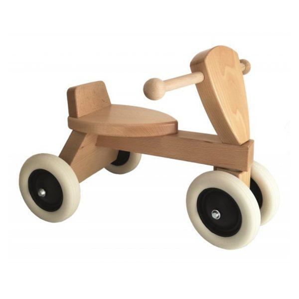 Cavalcabile triciclo in legno Egmont Toys