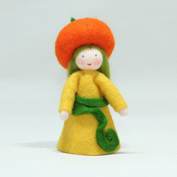 Figura Waldorf Fata Pumpkin Girl Ambro-dolls