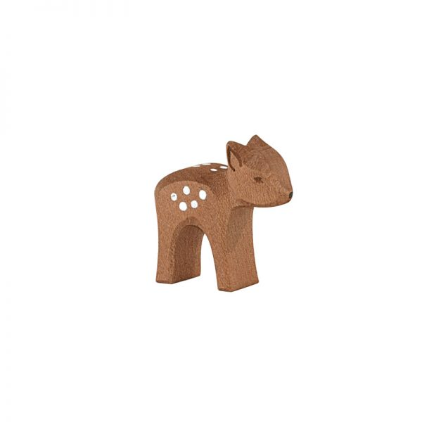 Figura legno Cerbiatto testa giù - Ostheimer