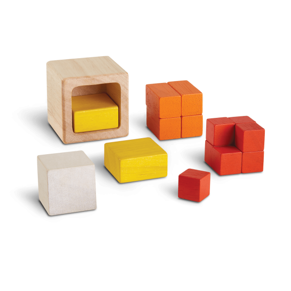 Gioco logico matematico fraction cubes Plan Toys