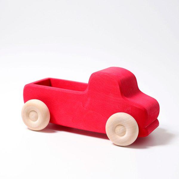 Macchina di legno - Large Truck rosso Grimm's