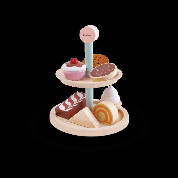 Set gioco di ruolo Bakery stand set Plan Toys