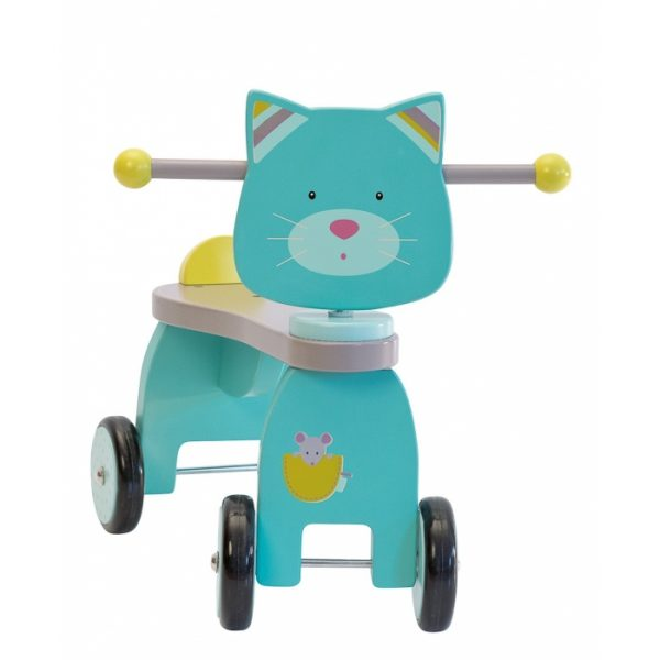 Cavalcabile gatto Les Pachats Moulin Roty