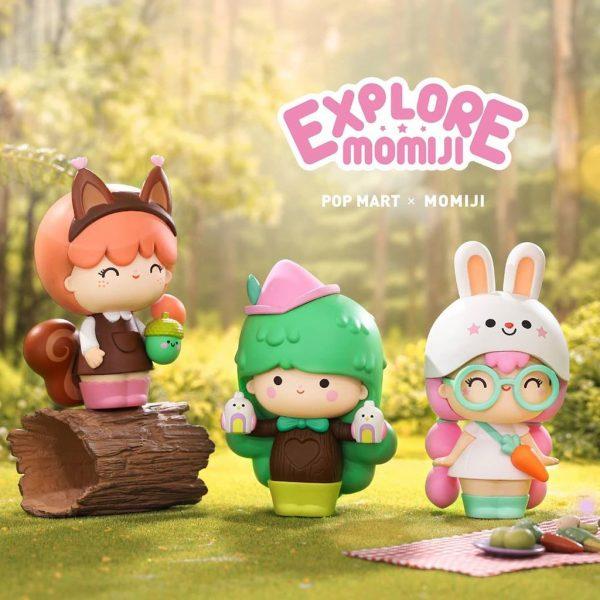 Figura in vinile Momiji Explore - blind box Pop Mart