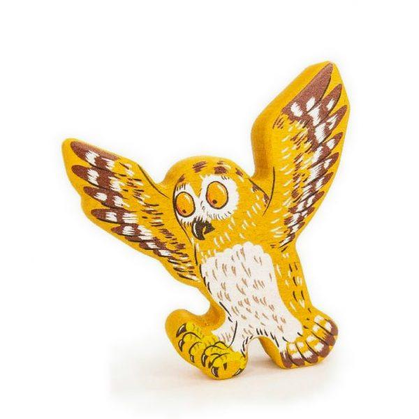 Personaggio di legno Il Gruffalo - Owl Bajo