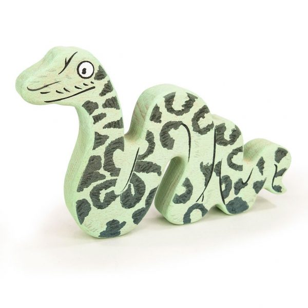 Personaggio di legno Il Gruffalo - Snake Bajo